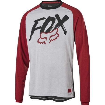 Pánský dres na kolo - Fox RANGER DRI-RELEASE LS JRSY