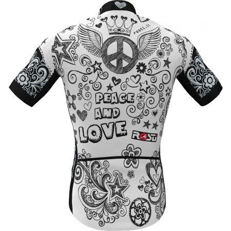 Pánský cyklistický dres - Rosti PEACE AND LOVE - 3