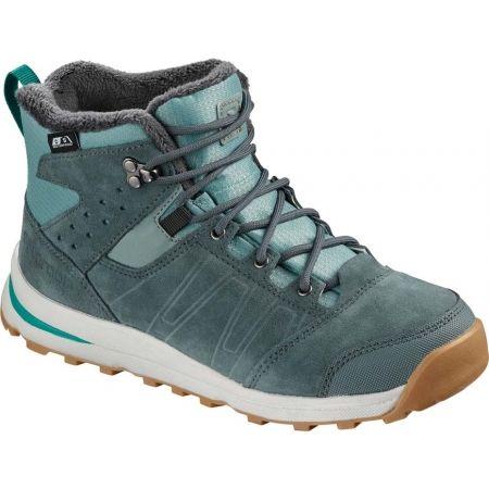 Dětská zimní obuv - Salomon UTILITY TS CSWP J - 1