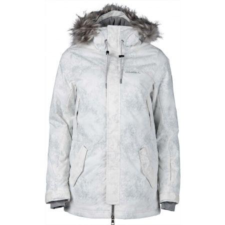 Dámská lyžařská/snowboardová bunda - O'Neill PW HYBRID CLUSTER JK - 1