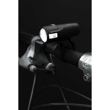 Set předního a zadního světla - AXA COMPACTLINE 20 USB + REAR - 2
