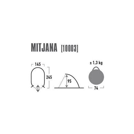 Přístřešek - High Peak MITJANA - 3