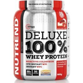 Nutrend DELUXE 100% WHEY 2250G JAHODOVÝ CHEESECAKE