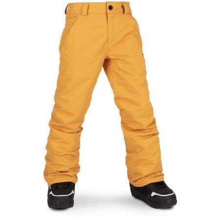 Chlapecké lyžařské/snowboardové kalhoty - Volcom FREAKIN SNOW CHINO - 1