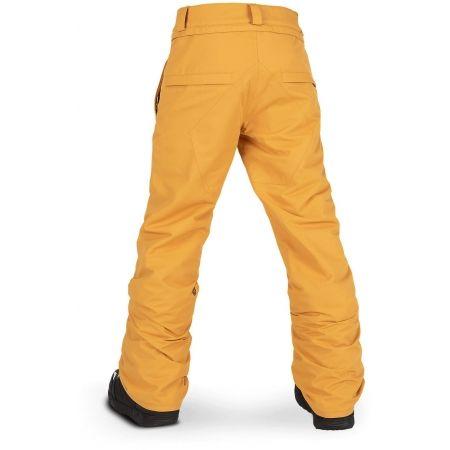 Chlapecké lyžařské/snowboardové kalhoty - Volcom FREAKIN SNOW CHINO - 2