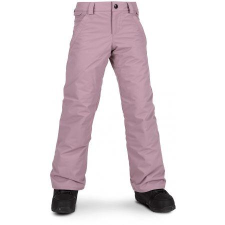 Dívčí lyžařské/snowboardové kalhoty - Volcom FROCHICKIDEE INS PNT - 1