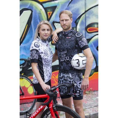 Pánské cyklistické kraťasy s laclem - Rosti PEACE AND LOVE - 4