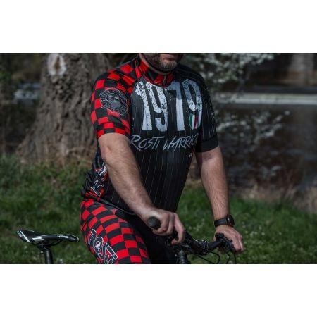 Pánský cyklistický dres - Rosti WARRIOR KR ZIP - 4