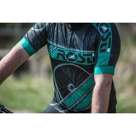 Pánský cyklistický dres - Rosti RUOTA DL ZIP - 5