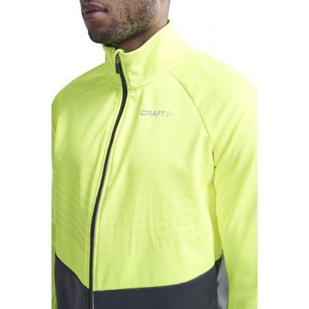 Pánská zateplená cyklistická bunda - Craft IDEAL - 4