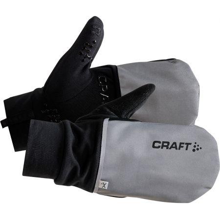 Kombinované cyklistické rukavice - Craft HYBRID WEATHER - 2