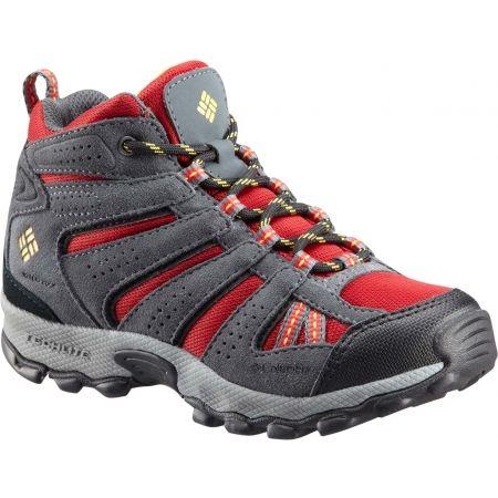 Dětská zimní outdoorová obuv - Columbia YOUTH NORTH PLAINS MID WP - 1