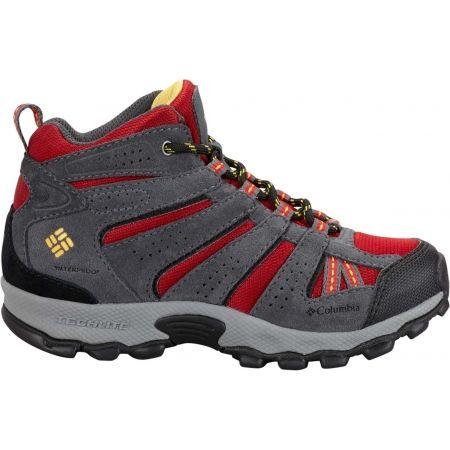 Dětská zimní outdoorová obuv - Columbia YOUTH NORTH PLAINS MID WP - 2