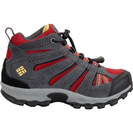 Dětská zimní outdoorová obuv - Columbia CHILDREN NORTH PLAINS MID WP - 2