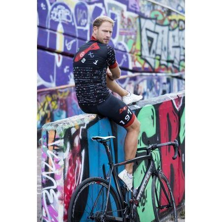 Pánský cyklistický dres - Rosti BOMBA DL ZIP - 5
