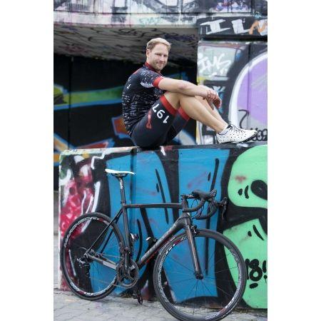 Pánský cyklistický dres - Rosti BOMBA DL ZIP - 7