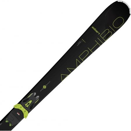 Unisexové sjezdové lyže - Elan AMPHIBIO 76 TI GRN PS + EL 10 - 3