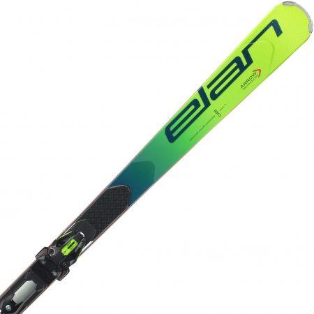 Závodní sjezdové lyže - Elan GSX FX + EMX 12 - 1
