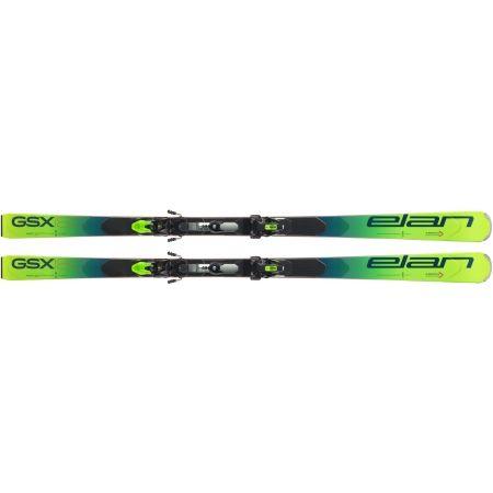 Závodní sjezdové lyže - Elan GSX FX + EMX 12 - 3