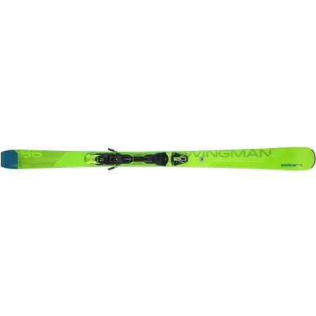 Sjezdové lyže - Elan WINGMAN 86 CTI FX + EMX 12 - 2