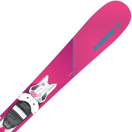 Dívčí sjezdové lyže - Elan LIL STYLE QS + EL 4.5 - 3
