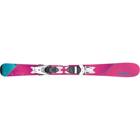 Dívčí sjezdové lyže - Elan LIL STYLE QS + EL 4.5 - 4