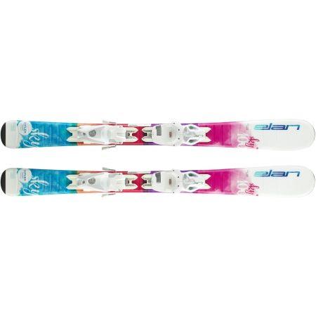 Dívčí sjezdové lyže - Elan SKY QS + EL 7.5 - 5