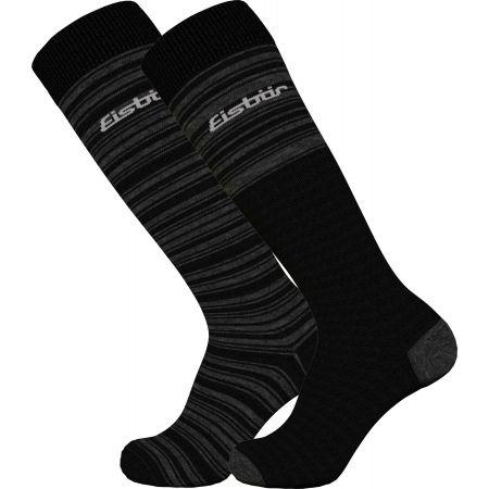 Lyžařské ponožky - Eisbär SKI COMFORT 2 PACK