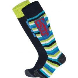 Eisbär COMFORT 2 PACK JR - Juniorské lyžařské ponožky