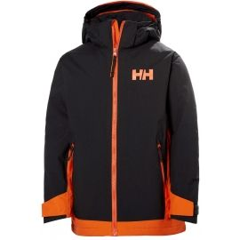 Helly Hansen JR HILLSIDE JACKET - Dětská lyžařská bunda