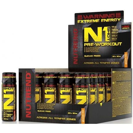 Nutrend N1 SHOT ORANGE FIRE - Stimulant