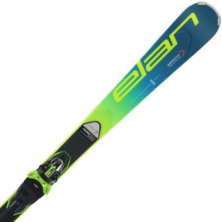 Závodní sjezdové lyže - Elan SL FUSION + EMX 11 - 1
