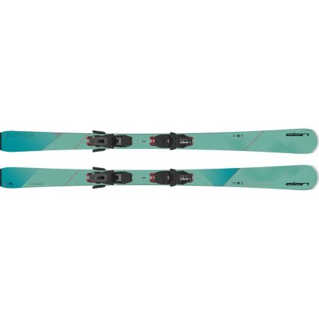 Dámské sjezdové lyže - Elan ILUMINA PS + ELW 9 - 2