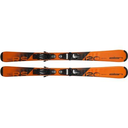 Juniorské sjezdové lyže - Elan RS RIPSTICK QS + EL 4.5 - 4