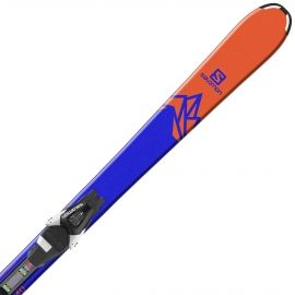 Salomon QST MAX JR M + L7 - Juniorské sjezdové lyže