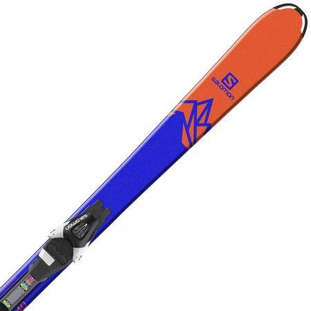 Juniorské sjezdové lyže - Salomon QST MAX JR M + L7 - 3