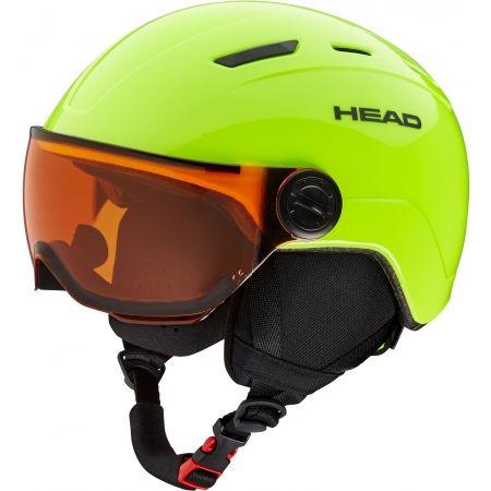 Head MOJO VISOR - Juniorská lyžařská helma