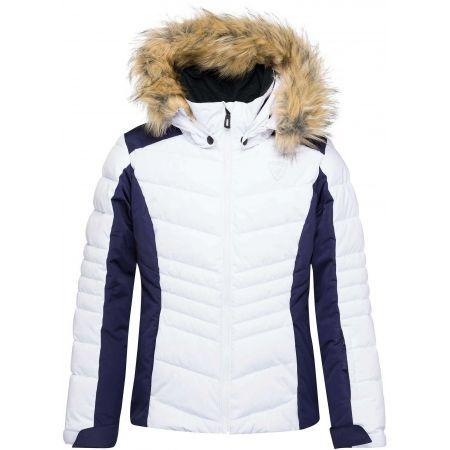 Dívčí lyžařská bunda - Rossignol GIRL BB POLYDOWN PEARLY JKT - 1