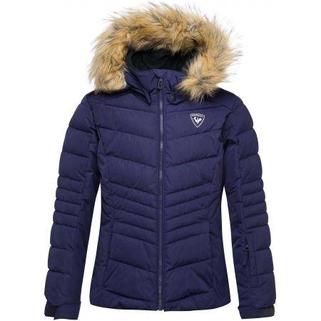 Rossignol GIRL BB POLYDOWN PEARLY JKT - Dívčí lyžařská bunda