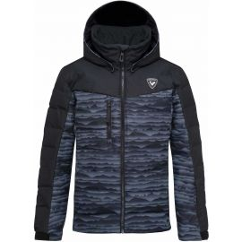 Rossignol BOY POLYDOWN PR JKT - Juniorská lyžařská bunda