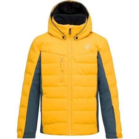 Rossignol BOY POLYDOWN JKT - Juniorská prošívaná bunda
