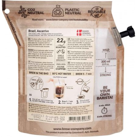 Bio káva - Grower's Cup KAVA BRAZIL - 2