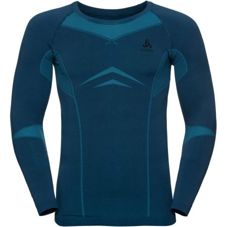 Odlo SUW MEN'S TOP L/S CREW NECK PERFORMANCE EVOLUTION WARM - Pánské triko