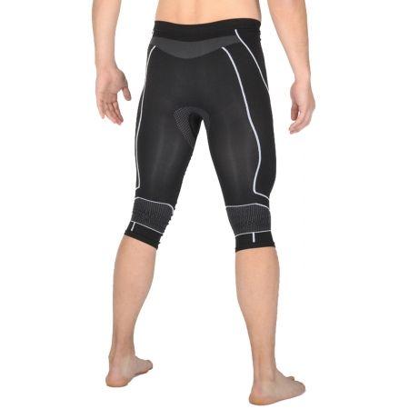 Pánské lyžařské 3/4 spodní kalhoty - Mico 3/4 TIGHT PANTS WARM SKIN - 2