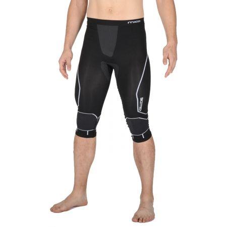 Pánské lyžařské 3/4 spodní kalhoty - Mico 3/4 TIGHT PANTS WARM SKIN - 1