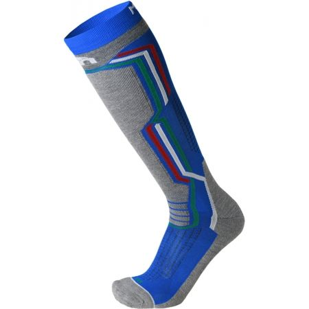Lyžarské pnožky - Mico MEDIUM WEIGHT ARGENTO X-STATIC SKI SOCKS - 1