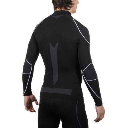 Pánské lyžařské spodní prádlo - Mico LONG SLEEVES MOCK NECK SHIRT WARM SKIN - 4