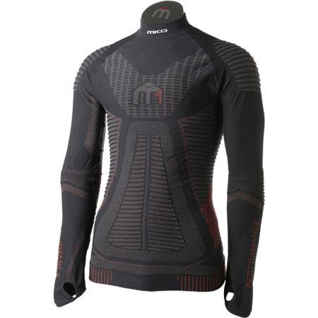 Mico LONG SLEEVES MOCK NECK SHIRT M1 - Pánské lyžařské spodní prádlo z řady M1 Performance