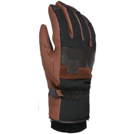 Level JOKER - Kožené lyžařské rukavice