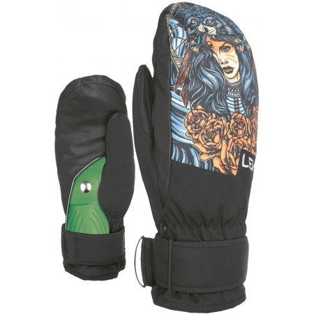 Pánské snowboardové rukavice - Level SPACE MITT - 2
